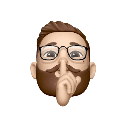 Peter Memoji that makes the pssst gesture